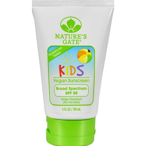 Nature's Gate - Kids Block Spf 50 Sunscreen Lotion ( 1 - 4 FZ)