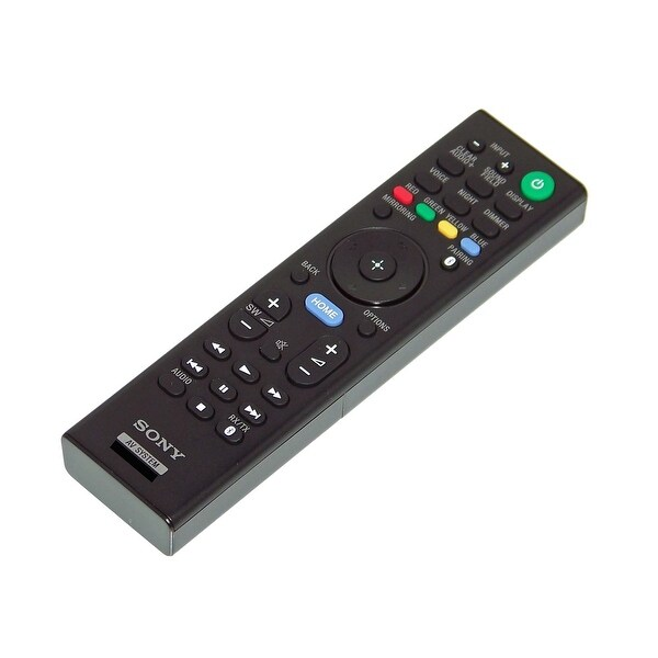 OEM Sony Remote Control Originally Shipped With: SANT5, SA-NT5