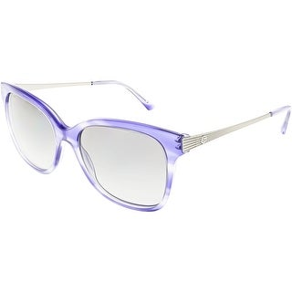Giorgio Armani Women's Polarized AR8074-548711-54 Blue Square Sunglasses