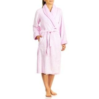 Body Touch Lux Plush Wrap Bathrobe
