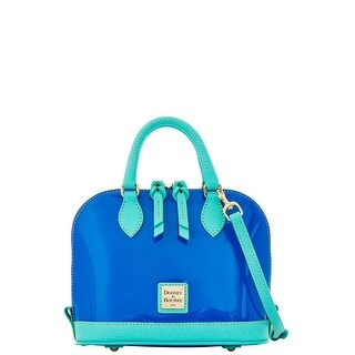 Dooney & Bourke Patent Bitsy Bag (Introduced by Dooney & Bourke at $178 in Jan 2016) - Ocean