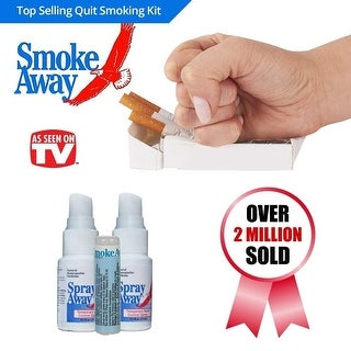 Smoke Away - Stop & Quit Smoking 7 Day Kit 30 Day Recovery Supply
