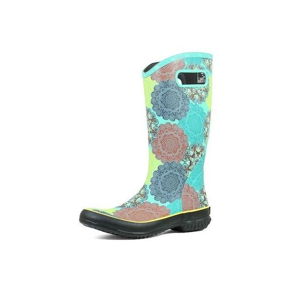 Bogs Outdoor Boots Womens Rainboot Mandala Pull On Waterproof