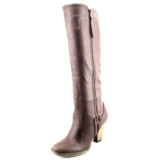 Mia Vagabondd Round Toe Synthetic Knee High Boot