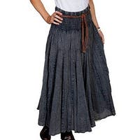 Scully Western Skirt Womens Cantina Full Length Embroidery