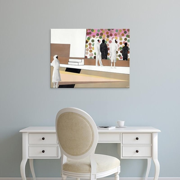 Easy Art Prints Nicolai Kubel Olesen's 'The Gallery' Premium Canvas Art