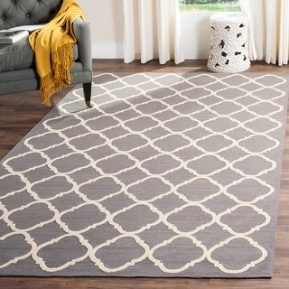 Link to Safavieh Handmade Newport Mykola Modern Cotton Rug Similar Items in Transitional Rugs