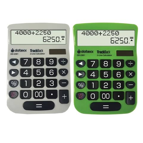 2 Line Trackback Desktop Calculator