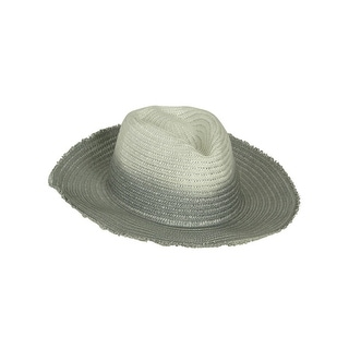 Collection Eighteen Women's Natural Edge Brim Straw Hat - os