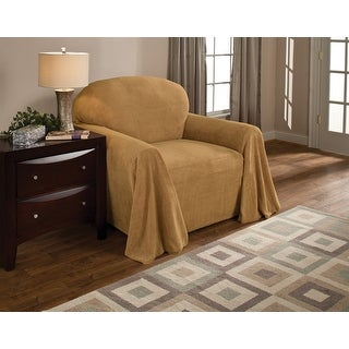 Link to Innovative Textile Solutions Solid Textured Chair Throw Slipcover Similar Items in Slipcovers & Furniture Covers