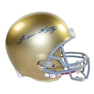 Lou Holtz Notre Dame Replica Helmet