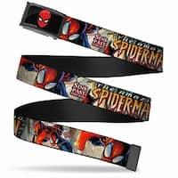 Marvel Comics Spider Man Face Fcg  Chrome The Amazing Spider Man #509 Web Belt