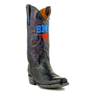 Gameday Boots Mens College Team Southern Methodist Black SMU-M214-2