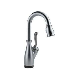 Delta 9678T-DST Leland Pull-Down Spray Kitchen Faucet with Touch Clean, Touch2O, MagnaTite Docking and Diamond Seal Technology