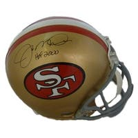 Joe Montana Autographed San Francisco 49ers Proline Helmet HOF JSA