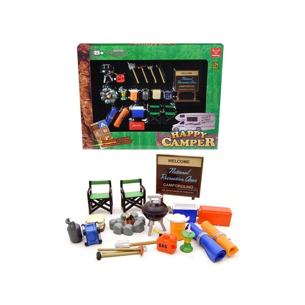 Shop Camper Accessories Set For 1\/24 Diecast Car Models by Phoenix Toys - Free Shipping On