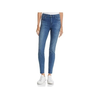 J Brand Womens Maria Skinny Jeans High Rise Ankle