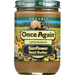 Once Again - Smooth Sunflower Butter ( 12 - 16 OZ)