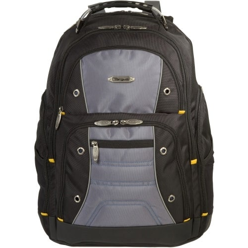 """""""Targus TSB238US Targus Drifter TSB238US Carrying Case (Backpack) for 16"""" Notebook - Black, Gray - Water Resistant - Nylon"""