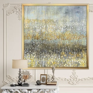 Link to Designart 'Glam Rain Abstract IV' Modern & Contemporary Framed Art Print Similar Items in Art Prints