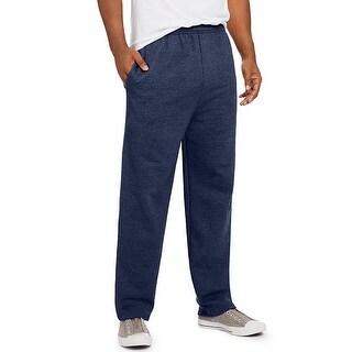 Hanes ComfortSoft EcoSmart Men's Fleece Sweatpants - Color - Navy Heather - Size - S