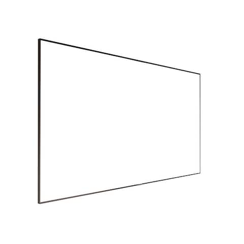 Monoprice 4K Fixed Frame Projection Screen 150 Inch ISF, Ultra HD, 16:9, No Logo