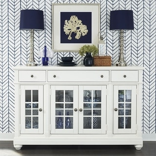 Link to Cottage Harbor White Buffet Similar Items in Dining Room & Bar Furniture