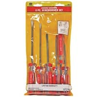Kc Professional 97214 Chrome Vanadium Screwdriver, 6 Pieces
