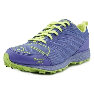 Icebug Anima3-L BUGrip Women Round Toe Canvas Blue Running Shoe