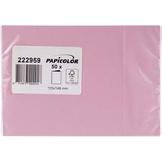 Baby Pink - Papicolor A6 Folded Cards 50/Pkg