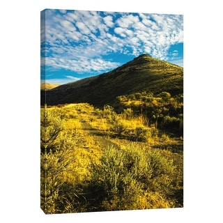 """PTM Images 9-105189  PTM Canvas Collection 10"""" x 8"""" - """"Western Peak"""" Giclee Rural Art Print on Canvas"""