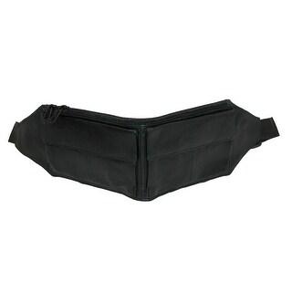 CTM® Large Size Travel Money Belt - Black - One size