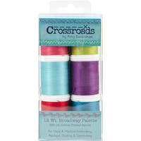 Crossroads Sulky Blendables 12 Weight 6/Pkg-Broadway Collection