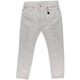 Denim & Supply Ralph Lauren Womens Destroyed Skinny Boyfriend Jeans