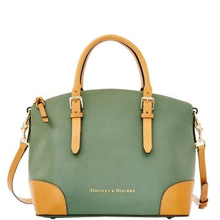 Dooney & Bourke Claremont Domed Satchel (Introduced by Dooney & Bourke at $298 in Apr 2015) - Sage