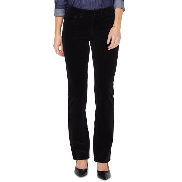 NYDJ Womens Marilyn Straight Leg Jeans Corduroy High Rise. Opens flyout.