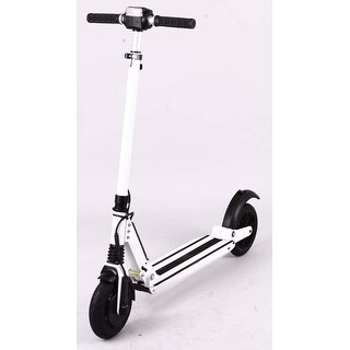E-Twow Booster White 33V 6.5 Amp 18 MPH 20 Mile Range Electric Scooter