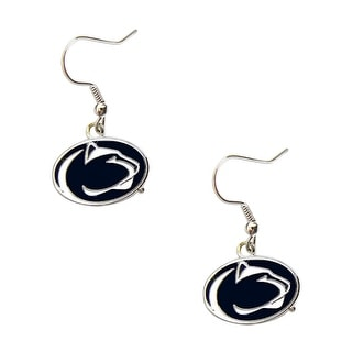 Penn State Nittany Lions Dangle Logo Earring Set NCAA Charm Gift