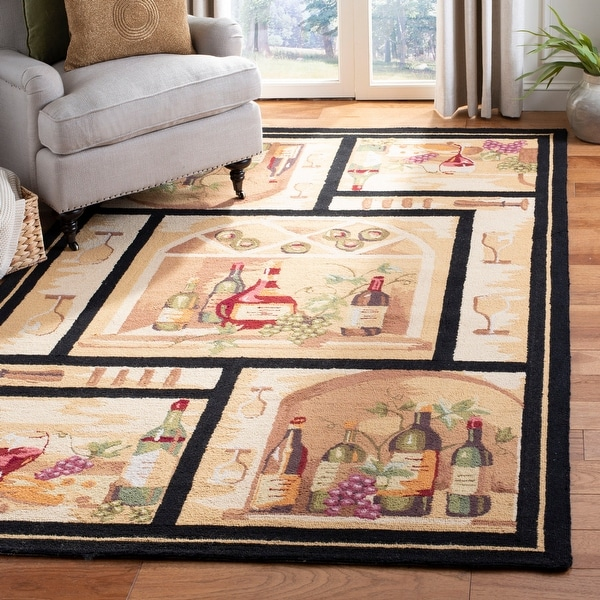 Safavieh Hand-hooked Chelsea Kaitlynn Country Oriental Wool Rug