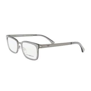 Emporio Armani EA1034 3003 Grey Rectangle Optical Frames - 52-19-140