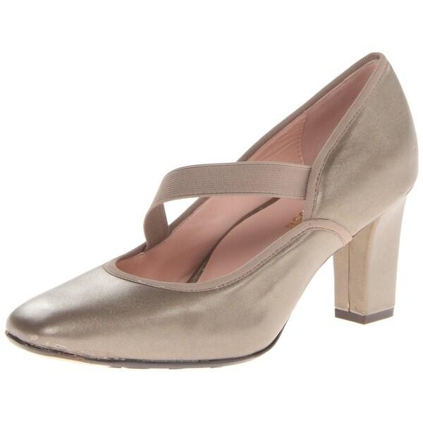 Taryn Rose NEW Beige Carlynne Shoes Size 11M Pumps Leather Heels