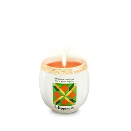 Jim Shore Happiness Candle Crock