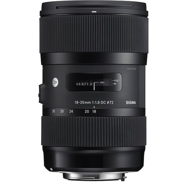 Sigma 18-35mm f/1.8 DC HSM Art Lens for Nikon DSLR Cameras - Black