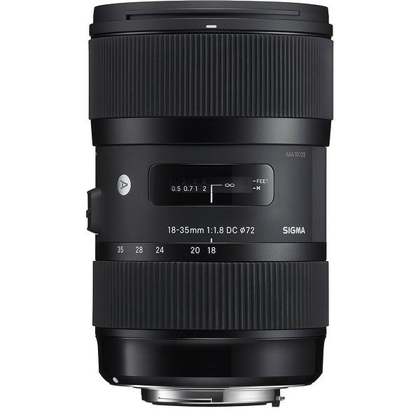 Sigma 18-35mm f/1.8 DC HSM Art Lens for Sony Alpha Cameras - Black