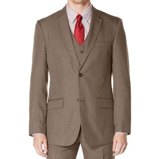 Perry Ellis NEW Brown Mens Size 42 Two Button Blazer Sportcoat Jacket