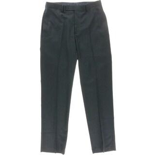 Calvin Klein Mens Slim Fit Glen Plaid Dress Pants - 32/32