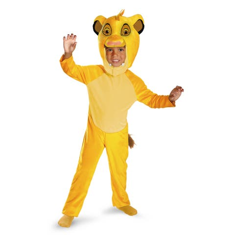 Toddler Classic Simba Lion King Costume