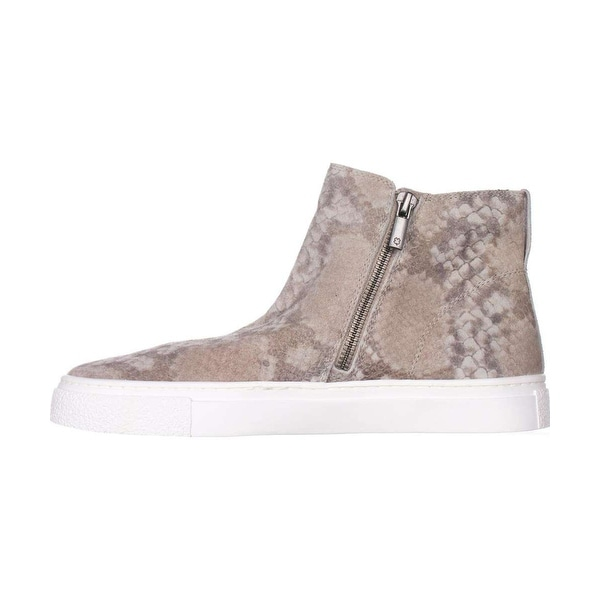 Lucky Brand Womens Bayleah Low Top Zipper Fashion Sneakers
