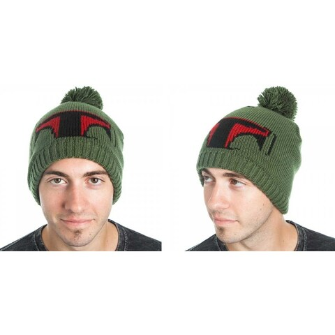 Star Wars Boba Fett Knit Hat with Pom