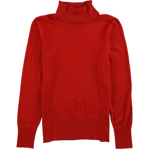 Cable & Gauge Womens Ribbed Pullover Sweater